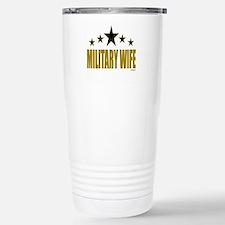 Military Wife Stainless Steel Travel Mug