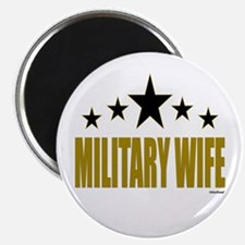 """Military Wife 2.25"""" Magnet (100 pack)"""