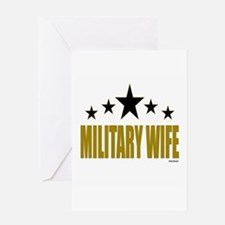 Military Wife Greeting Card