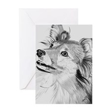 Sheltie Sheepdog Greeting Card