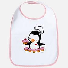 Bake a Cupcake Bib