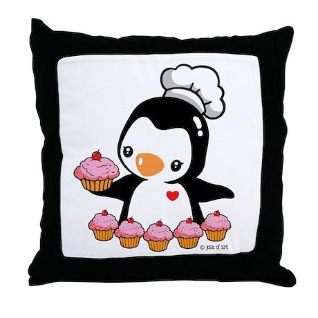 Bake a Cupcake Throw Pillow
