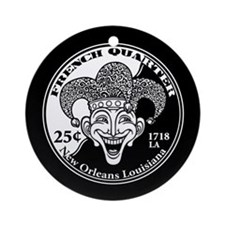French Quarter Ornament (Round)