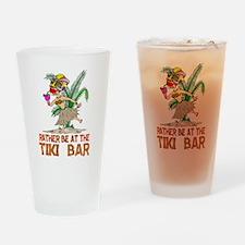 Rather be.... Tiki Goddess Drinking Glass