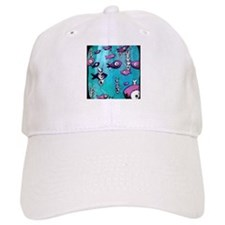 Blue Fish & Bone Baseball Cap