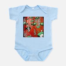 Red Fish & Bone Infant Bodysuit