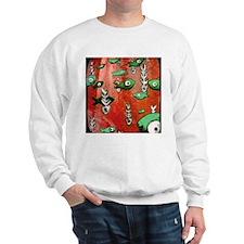 Red Fish & Bone Sweatshirt