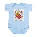 Van Tiel Coat of Arms Infant Creeper