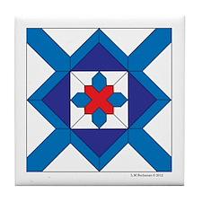 Flashing Star Tile Coaster