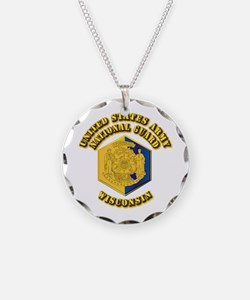 Army National Guard - Wisconsin Necklace