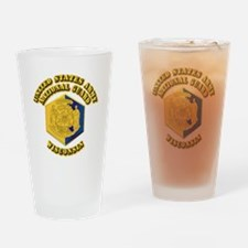 Army National Guard - Wisconsin Drinking Glass