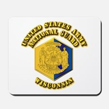 Army National Guard - Wisconsin Mousepad