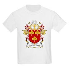 Van der Steen Coat of Arms Kids T-Shirt