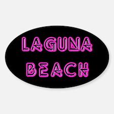 Laguna Beach Oval Decal