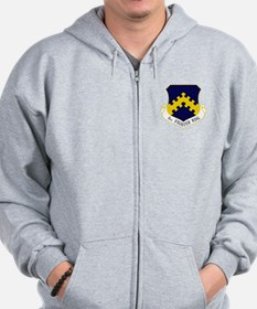 8th Fighter Wing Zip Hoodie