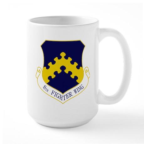 8th Fighter Wing Large Mug