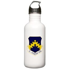 8th Fighter Wing Water Bottle