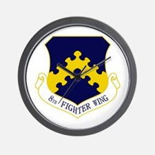 8th Fighter Wing Wall Clock