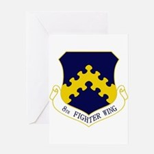 8th Fighter Wing Greeting Card