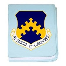 8th Fighter Wing baby blanket