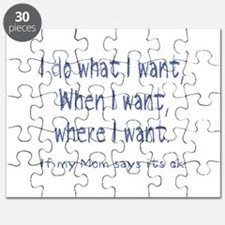 I do what I want Puzzle