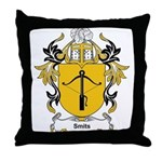 Smits Coat of Arms, Family Cr Throw Pillow
