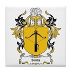 Smits Coat of Arms, Family Cr Tile Coaster