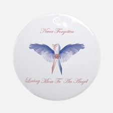 SIDS angel girl lost Ornament (Round)