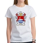 Van Sluys Coat of Arms Women's T-Shirt