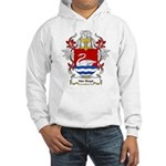Van Sluys Coat of Arms Hooded Sweatshirt