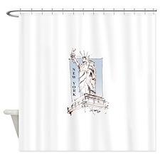 New York 2 Shower Curtain