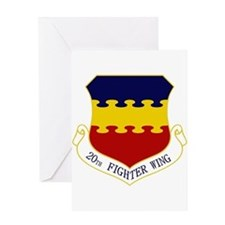 20th Fighter Wing Greeting Card