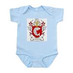 Van Schouwen Coat of Arms Infant Creeper