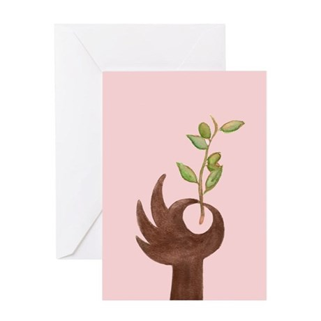 Peace Blank Greeting Card
