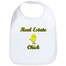 Real Estate Chick Bib