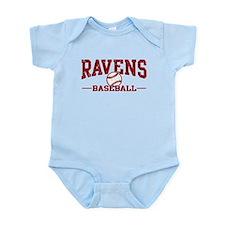Ravens Baseball Infant Bodysuit