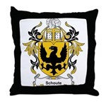 Schoute Coat of Arms Throw Pillow