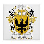 Schoute Coat of Arms Tile Coaster