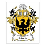 Schoute Coat of Arms Small Poster