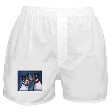 RAT TERRIER kiss Boxer Shorts