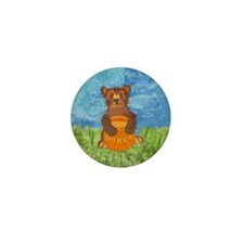 Honey Bear Mini Button