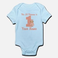 1st Birthday Princess Infant Bodysuit