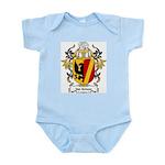 Van Schoor Coat of Arms Infant Creeper