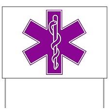 Star of Life - Purple Yard Sign