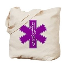 Star of Life - Purple Tote Bag