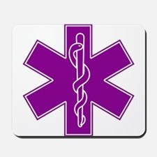 Star of Life - Purple Mousepad