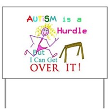 Autism is a Hurdle Yard Sign