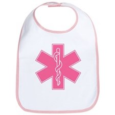 Star of Life (front) / Trauma Junkie (back) Bib
