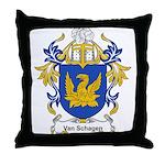 Van Schagen Coat of Arms Throw Pillow