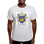 Van Schagen Coat of Arms Ash Grey T-Shirt